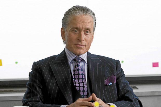 Wall Street Style - Featuring The Iconic Gordon Gekko: pinstripes