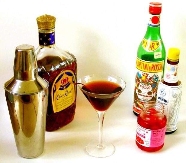 manhattan cocktails drink