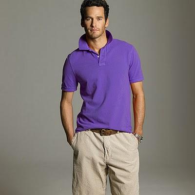 Polo knits are a man's wardrobe favorite