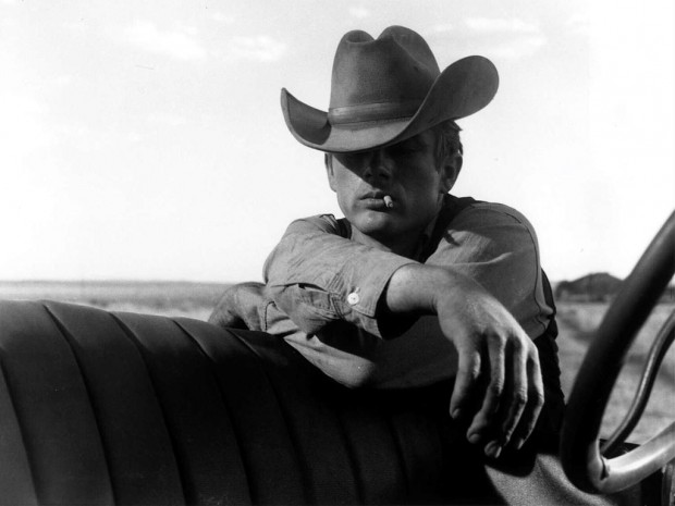 James Dean style icon cowboy hat