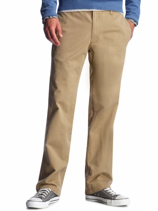 Chinos that are suitable for a man's wardrobe
