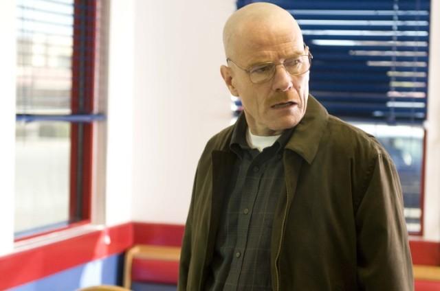 Walter White's Wardrobe From Breaking Bad: Walter breaking bad wearing bomber jacket
