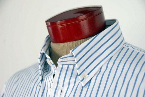 button down dress shirt collar