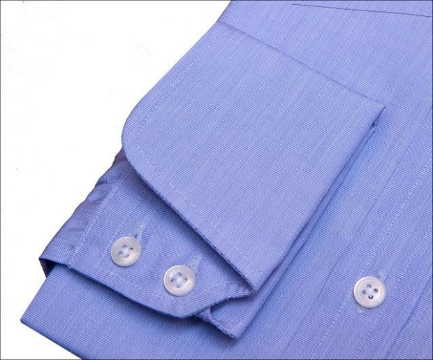 cocktail cuffs blue dress shirt
