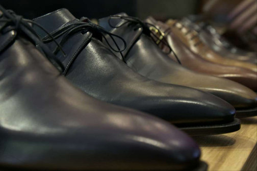 Corthay shoe collection winter wardrobe