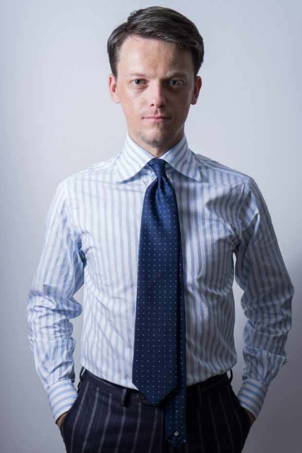 Bespoke and made to measure shirts: A custom dress shirt from Deo Veritas