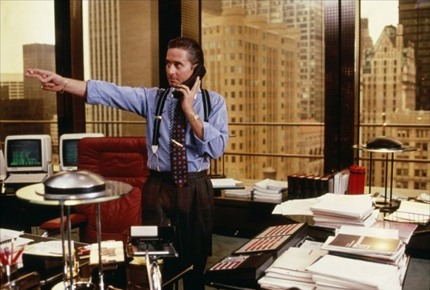 Wall Street Style - Featuring The Iconic Gordon Gekko: suspenders