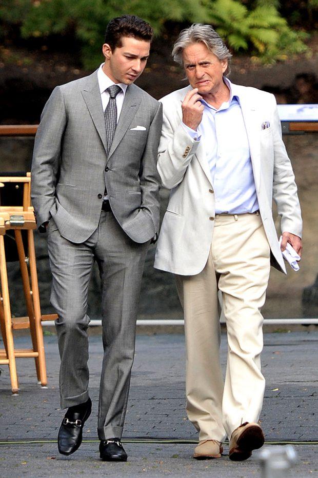 Wall Street Style - Featuring The Iconic Gordon Gekko: shia lebeouf