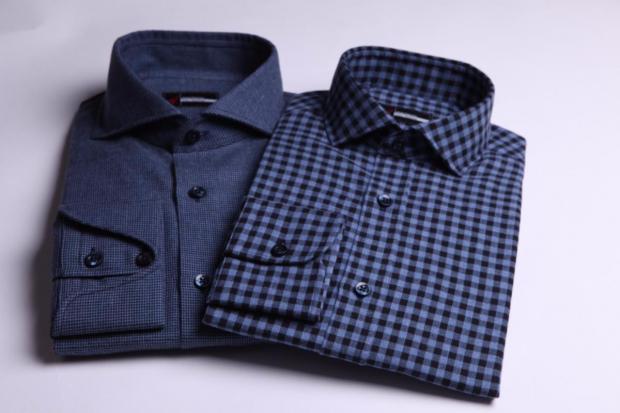 Fall And Winter Dress Shirt Fabrics Overview: melange flannel deo veritas