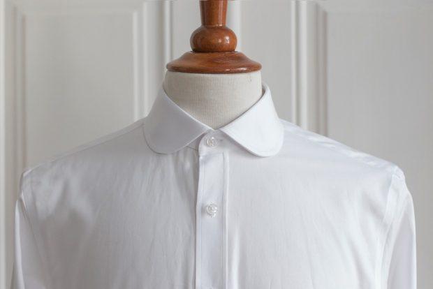 Dress shirt collars: Club collar