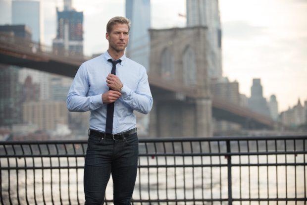 Deo Veritas Fall Lookbook: Black tie casual oxford fall lookbook