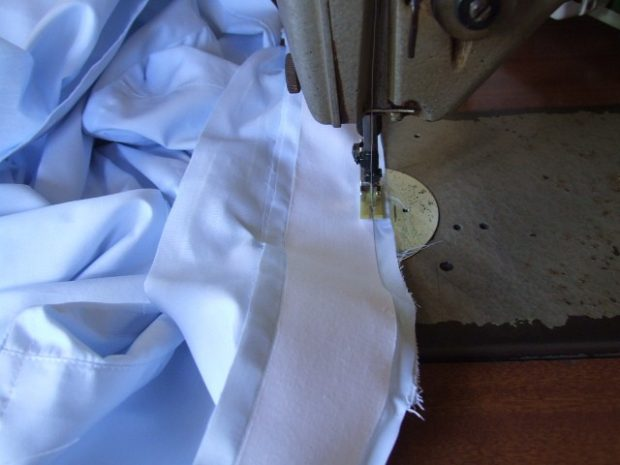 Dress shirt collars: Fused Collar