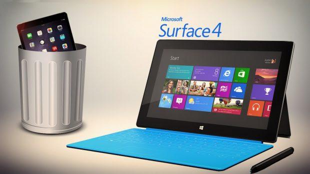 Microsoft Surface Pro 4 Vs. The MacBook Pro