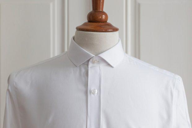 Dress shirt collars: Mini-point collar