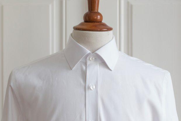 Dress shirt collars: Point collar