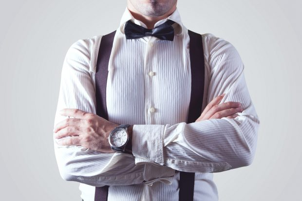 A Guide to Tuxedo Shirts And Styles: Pleated tuxedo shirt style