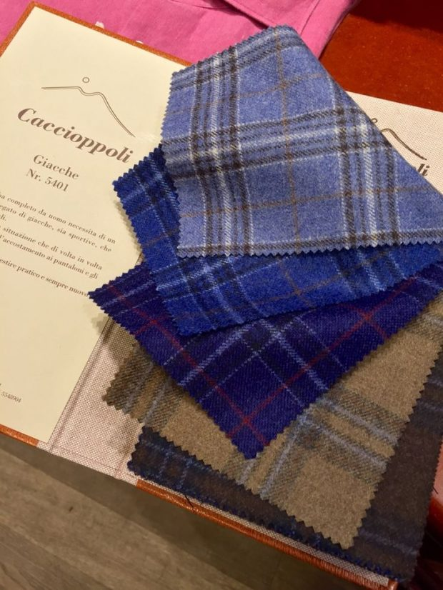 Fall And Winter Dress Shirt Fabrics Overview: caccioppoli