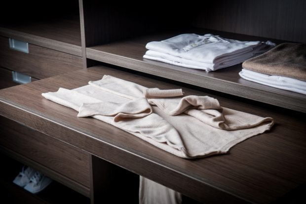 How To Fold Dress Shirts And Pack Them Properly: folding table