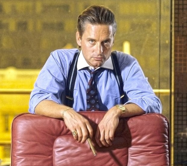 Wall Street Style - Featuring The Iconic Gordon Gekko: cigars