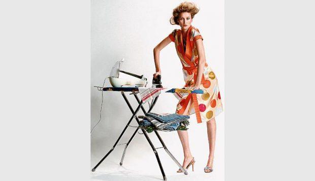 Ironing non-iron dress shirts