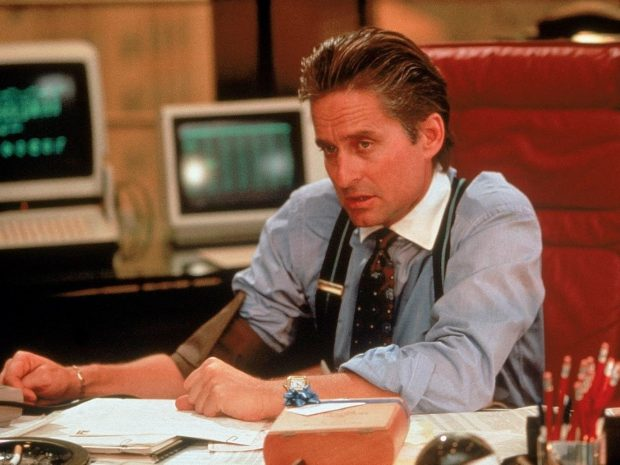 Wall Street Style - Featuring The Iconic Gordon Gekko: power
