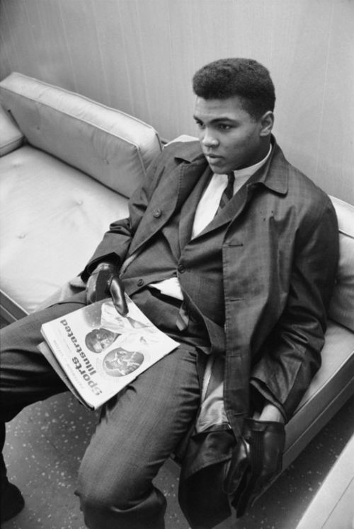 Boxing Legend And Style Icon Muhammad Ali: sports illustrated