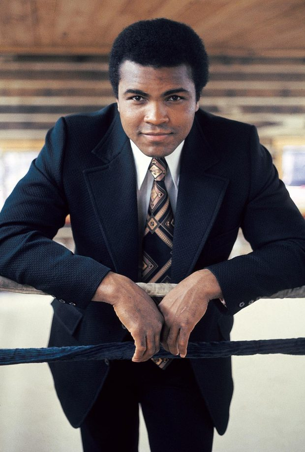 Boxing Legend And Style Icon Muhammad Ali: powerful and elegant
