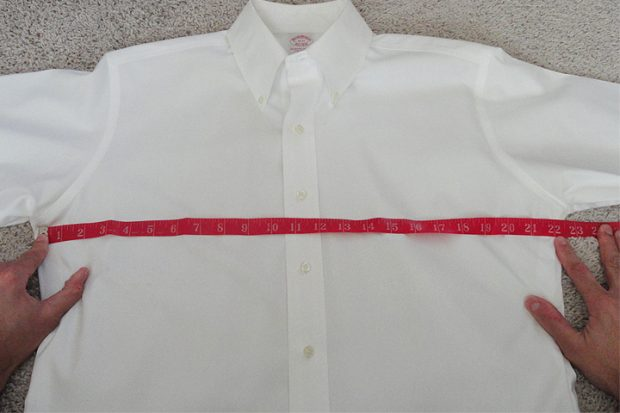 Bespoke and made to measure shirts: Measuring an existing shirt