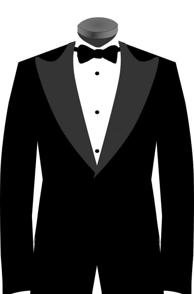 A Guide to Tuxedo Shirts And Styles - bow tie and studs