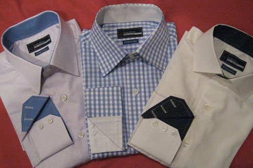 Custom dress shirt